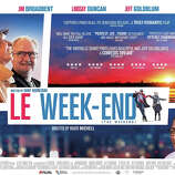 'Le Week-End' - Returning to Paris long after their honeymoon there, a British couple hopes to rediscover the magical feelings of their early years together. There, they meet an old friend whose perspectives on love and marriage help them recover what was lost. Available Sept. 6
