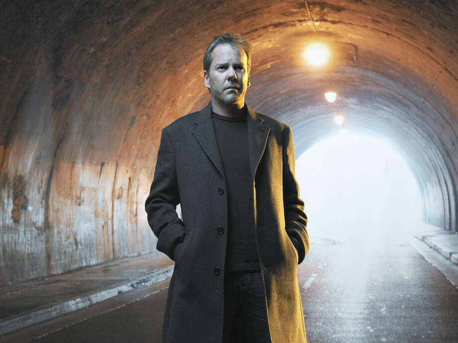 """This image released by Fox shows Kiefer Sutherland in a scene from """"24: Live Another Day,"""" premiering Monday, May 5 at 8 p.m. EDT on Fox. (AP Photo/Fox, Kiefer Sutherland) ORG XMIT: NYET403 Photo: Daniel Smith"""