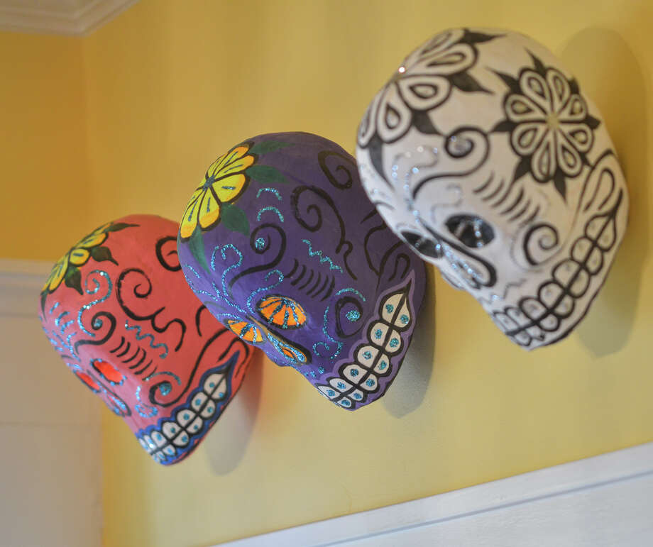 Colorful folk art hangs throughout Ruthie Foultz's home. Photo: Robin Jerstad, For The Express-News