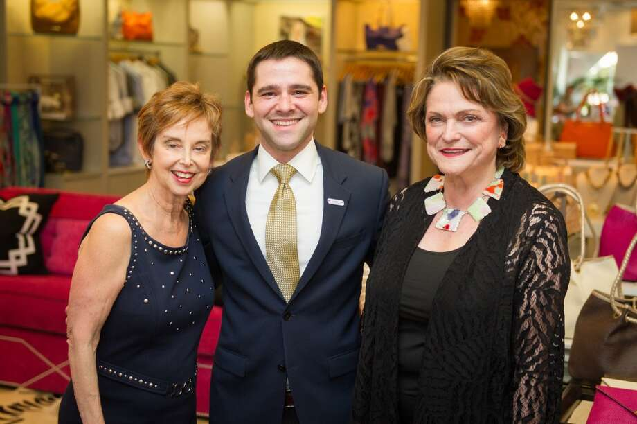 Evelyn Leightman, Seth Caplan and Beth Wolff Photo: Wilson Parish Photography