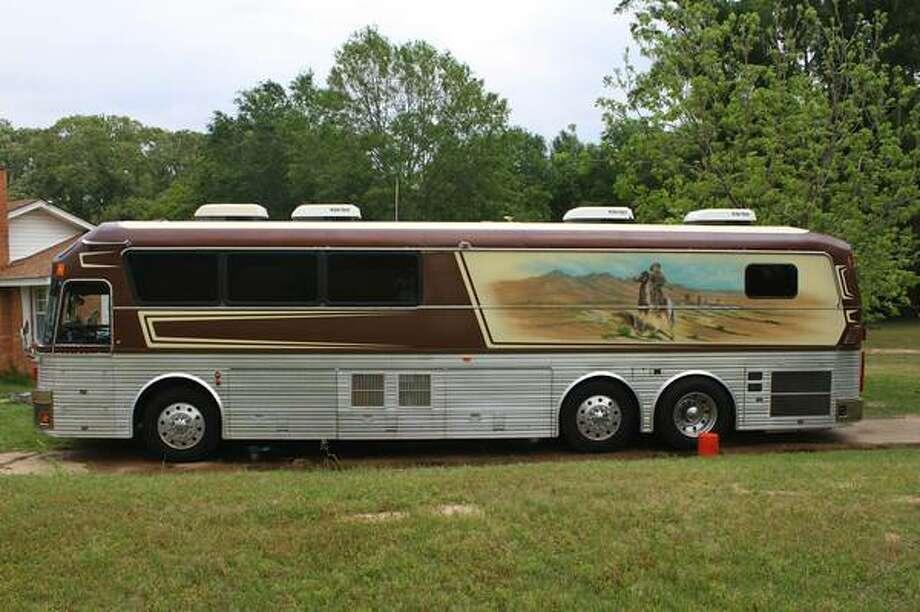 Tour bus used by the Willie Nelson Band is on sale. Photo: Courtesy, Alen Vidovic