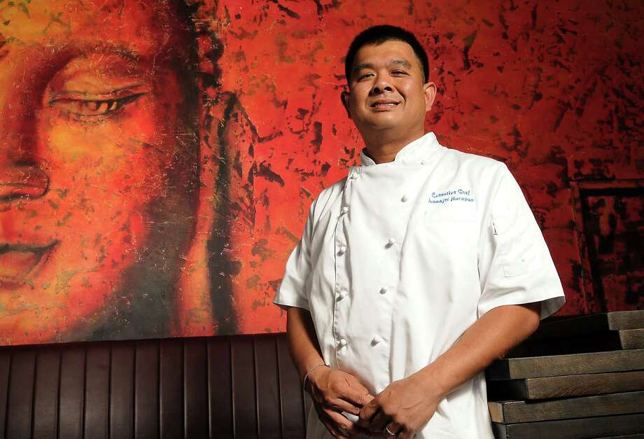 Chef Junnajet Hurapan at SongKran Thai Kitchen in Uptown Park Monday April 21, 2014.(Dave Rossman photo) Photo: Dave Rossman, Freelance / Freelance