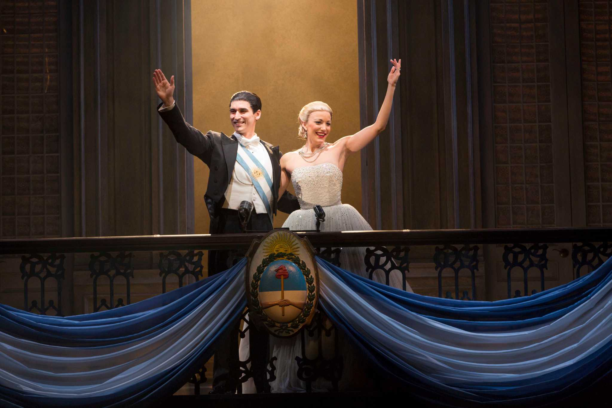 Tuts Brings An Updated Evita Houston Chronicle