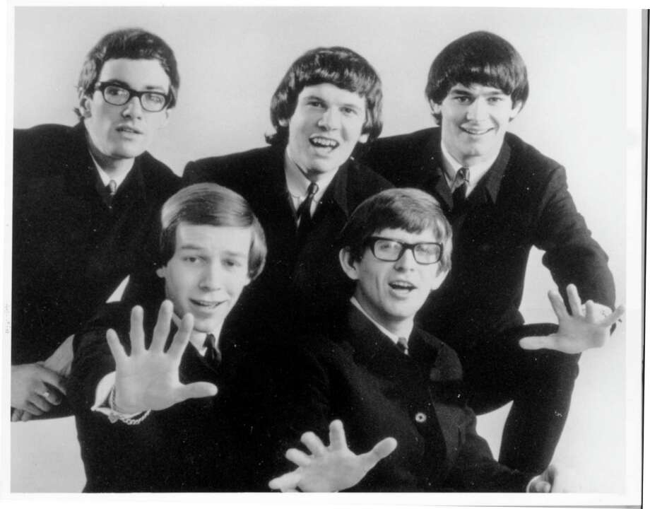 The Zombies, featuring original members Rod Argent, second from left, and Colin Blunstone, fourth from left, will perform Sunday night at Dosey Doe. / Handout