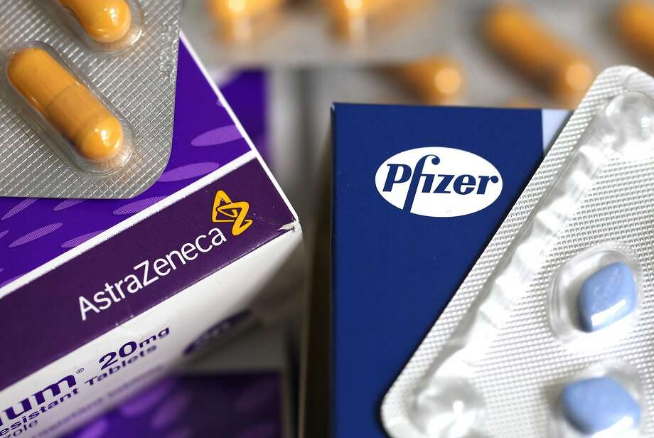 Pfizer is offering to buy rival AstraZeneca for $106.5 billion. Some industry observers say the deal could lead to cuts in jobs and research and development. Photo: Chris Ratcliffe, Bloomberg