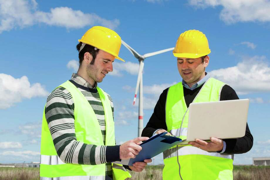 Energy sources such as solar and wind have improved over the years in both efficiency and adoption by the public. For both industries, engineers will be needed for research and for adapting new technology in the design, installation, and maintenance of new wind turbines and solar panels. / iStockphoto