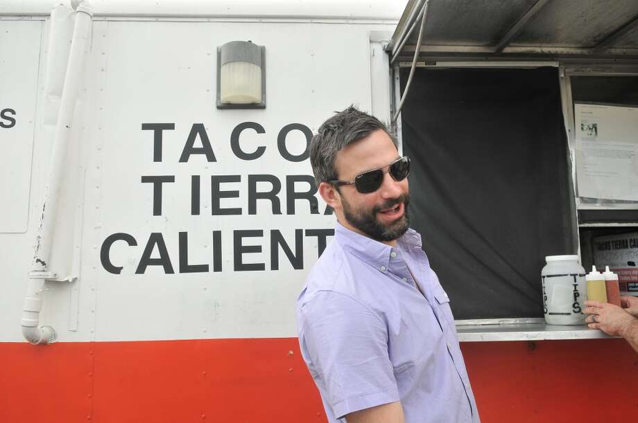 We would be really bad hosts if we didn't tell you about Tacos Tierra Caliente, a taco truck parked just out the West Alabama Ice House. Photo: Daniel Ortiz, GHCVB