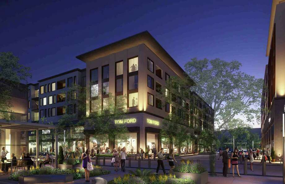 Rendering of River Oaks District with new luxury tenants Photo: Courtesy Of OliverMcMillan
