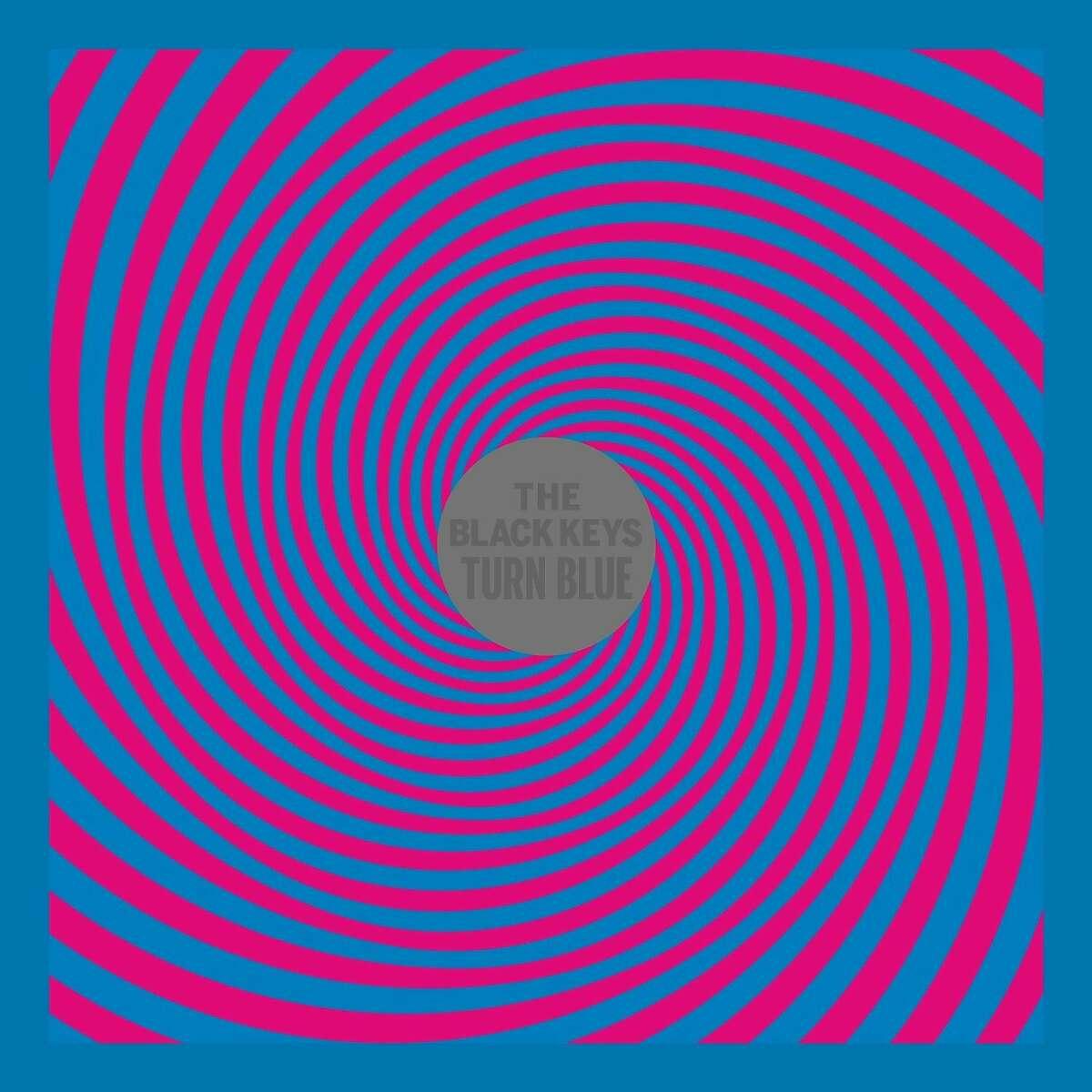 "cd cover: ""Turn Blue"" by the Black Keys."
