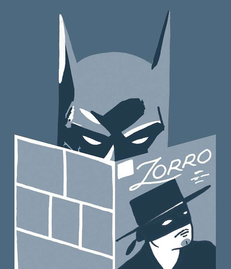 Batman – Zorro had a wealthy alter ego, black mask, secret cave and a butler, and he battled injustice just like our friend Bruce Wayne. And Bruce may have been inspired by Zorro, since the movie he sees with his parents the night they are shot is The Mark of Zorro (at least according to Batman #0, written by Doug Moench). Photo: Shannon May