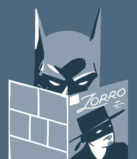 Batman – Zorro had a wealthy alter ego, black mask, secret cave and a butler, and he battled injus