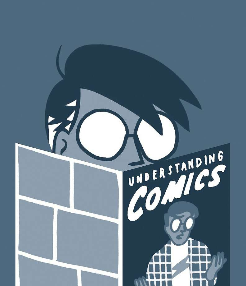 Scott McCloud (author of Understanding Comics) – Scott McCloud is best known as the author of Understanding Comics. Drawn in comic form, McCloud portrays himself as a character explaining the history, methods, vocabulary and theory of comics as a medium. Photo: Shannon May