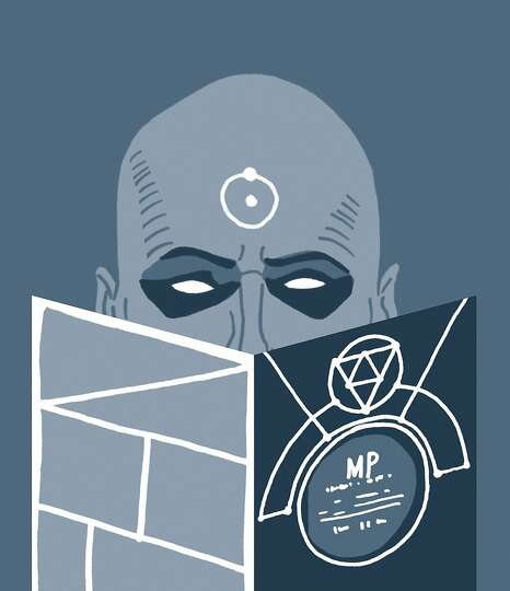Dr. Manhattan (Watchmen) – Dr. Manhattan is reading the Manhattan Projects, Jonathan Hickman's fre