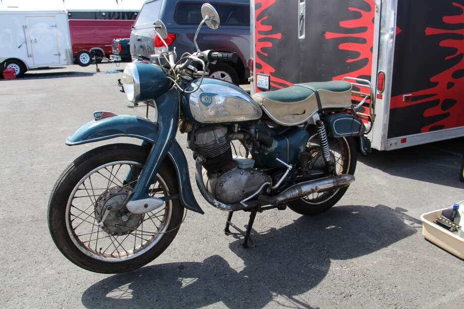 Jensen brought down this 300cc NSU Super Max (vintage somewhere between 1957 and 1962) to sell to a friend in San Francisco. He said he got $2,000 for it.