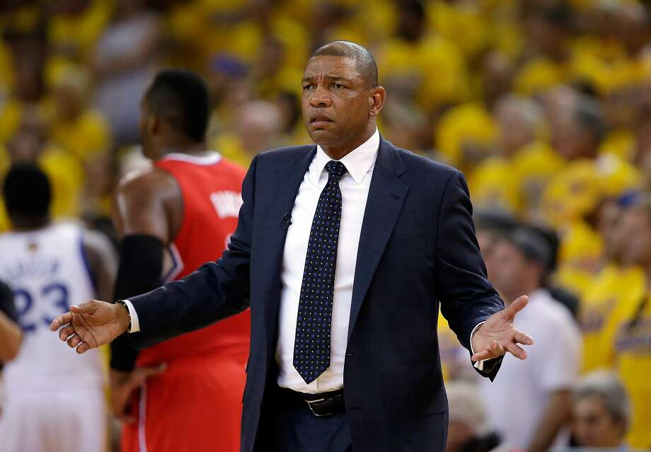 Doc Rivers feels for employees affected by the Sterling incident. Photo: Ezra Shaw, Getty Images