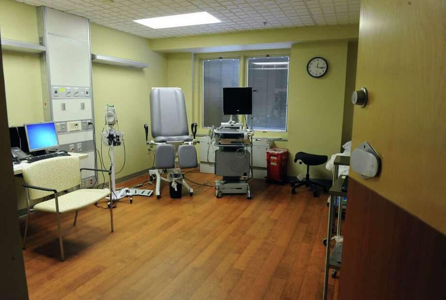 The urodynamic / flouro room in the new Pelvic Health Center at Albany Memorial Hospital on Thursday, May 1, 2014, in Albany, N.Y  (Lori Van Buren / Times Union) Photo: Lori Van Buren / 00026684A