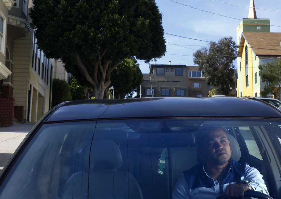 Ramzi Reguii, who drives for UberX, is calling for other drivers to join him in a protest Thursday over fee increases. Photo: Leah Millis, San Francisco Chronicle