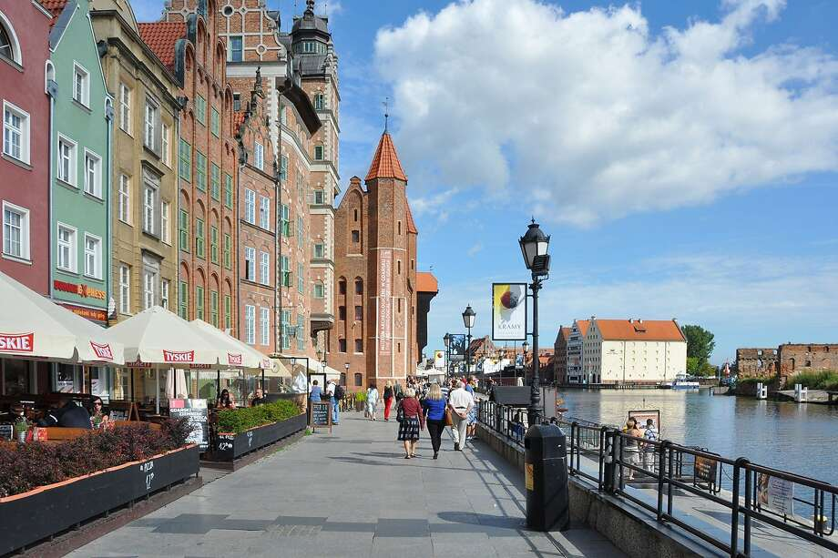Poland's Gdansk is often a port of call on northern European cruises, which make it easy to explore cities. Photo: Cameron Hewitt