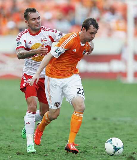 Injuries could give Dynamo midfielder Brian Ownby (22) a chance at more playing time. Photo: Bob Levey, Photographer / ©2013 Bob Levey