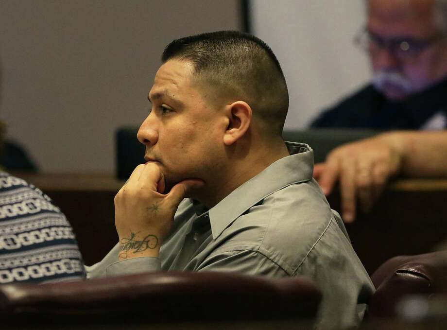 Jurors determined that although Andres Alfredo Segovia — seen here during the trial — was shot at during an argument, he committed murder by firing back. Photo: Bob Owen / San Antonio Express-News / © 2012 San Antonio Express-News