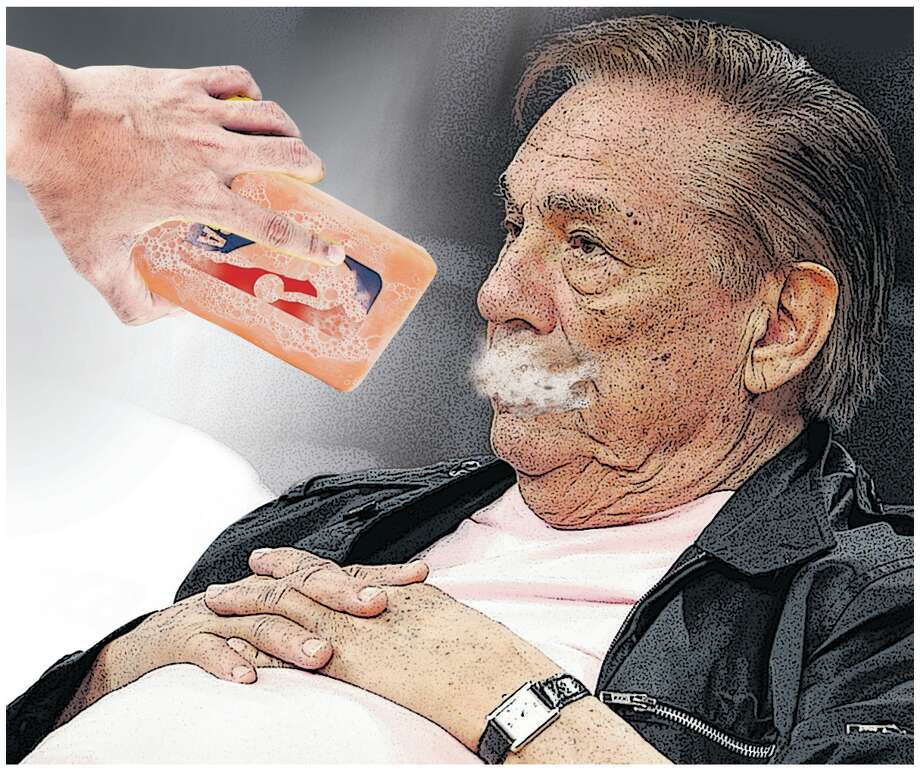 Photo illustration of Donald Sterling