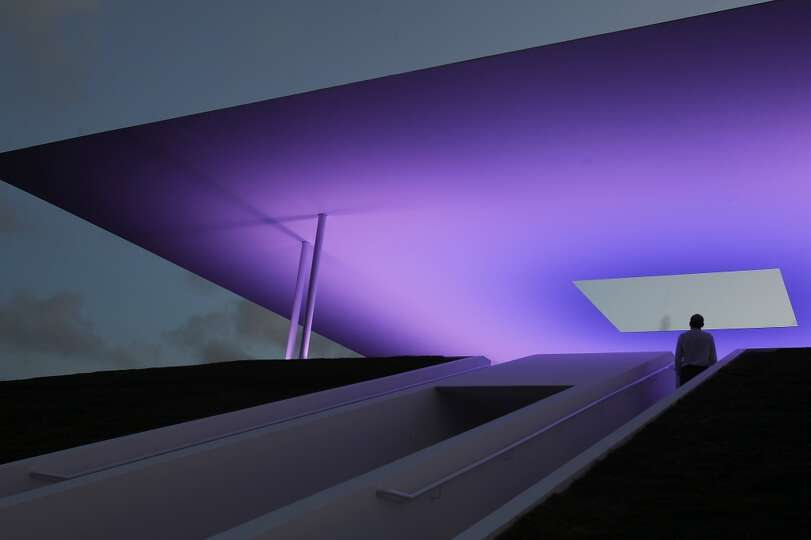 james turrell skyspace don t think you have time for art photo houston chronicle. Black Bedroom Furniture Sets. Home Design Ideas