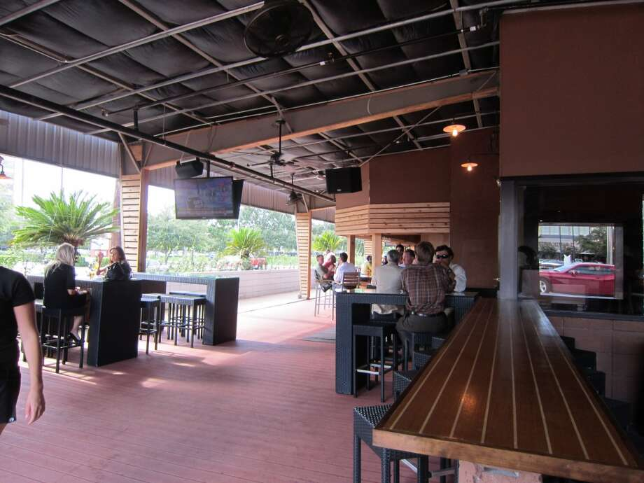 "The West End  5320 Westheimer 713-590-0616   This Galleria-area tavern takes its inspiration from Stanley Kubrick's ""A Clockwork Orange."" A huge patio seats 400. A large selection of beer on tap, as you might expect, and house-made crisps. Photo: Syd Kearney, Houston Chronicle"
