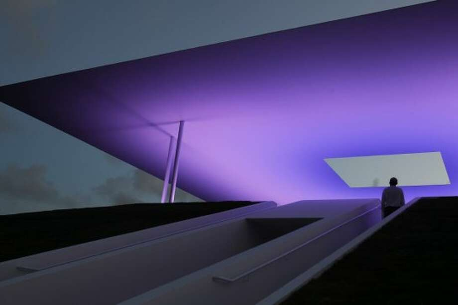 James Turrell Skyspace Photo: Karen Warren, Houston Chronicle