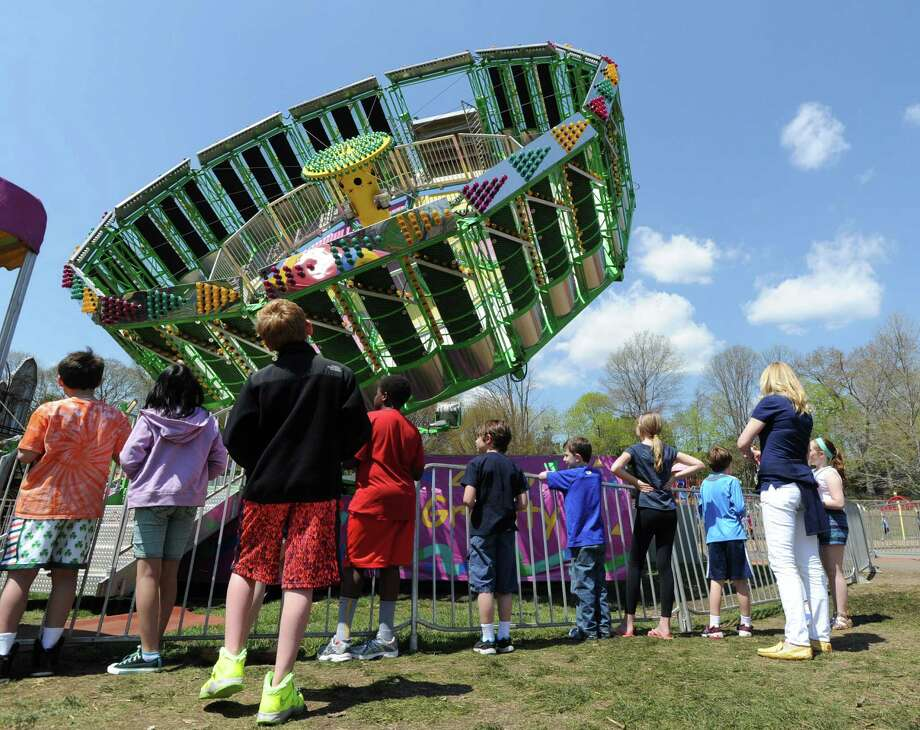 "The annual North Mianus School carnival and PTA fundraiser known as the ""Pow Wow, "" at the school in Greenwich, Conn., Saturday, May 3, 2014. Photo: Bob Luckey / Greenwich Time"