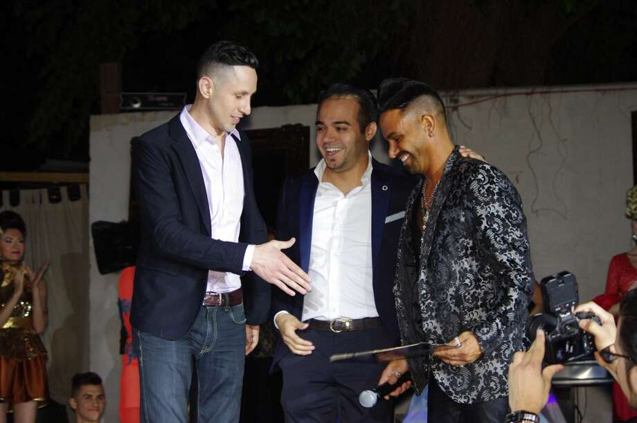 """Partygoers and dancers galore were in full attendance at the 7 Down Sinful Party Series. This time around, the party theme was """"Vanity."""" Photo: John-Henry Perera, Houston Chronicle"""