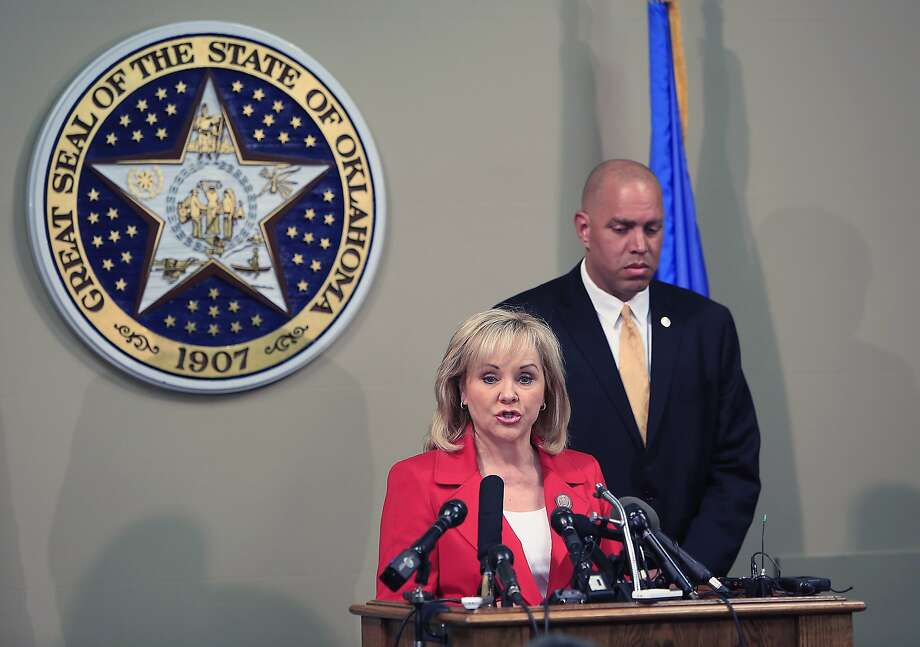 Oklahoma Gov. Mary Fallin reaffirmed her support of capital punishment after the botched execution. Photo: Alonzo Adams, Associated Press