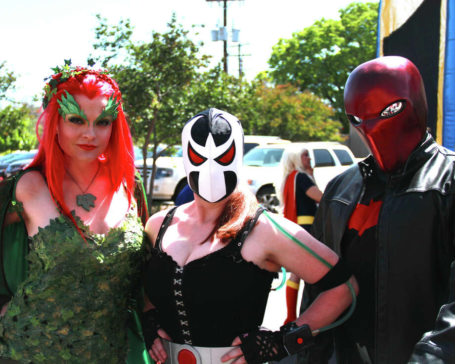 Heroes and villains descended on a local comic shop for the annual day of comic book madness. Photo: By DeAnne Cuellar, For MySA.com
