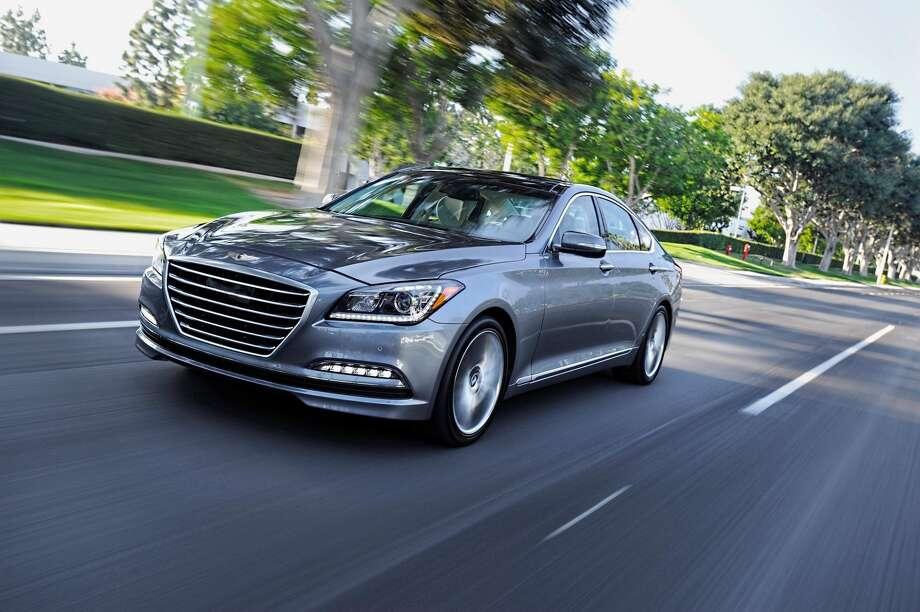 6. 2015 Hyundai GenesisMSRP: Starting at $38,000Source: AutoTrader Photo: Newspress USA