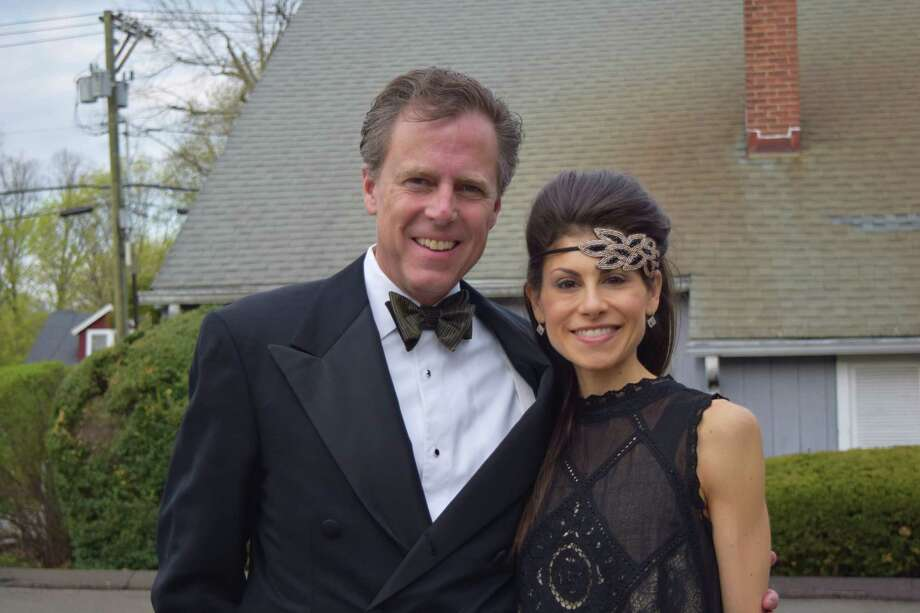 "The Silvermine Arts School in New Canaan celebrated its 90th anniversary with a ""roaring 20s"" themed gala on May 3, 2014.More photos from this event  Photo: Todd Tracy / Hearst Connecticut Media Group"