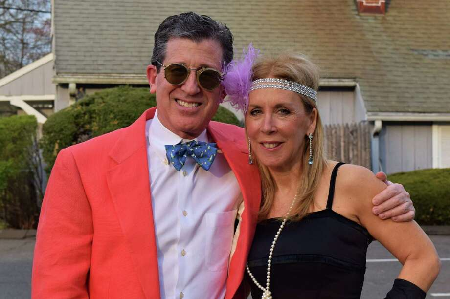 "The Silvermine Arts School in New Canaan celebrated its 90th anniversary with a ""roaring 20s"" themed gala on May 3. Were you SEEN all dressed up? Photo: Todd Tracy / Hearst Connecticut Media Group"