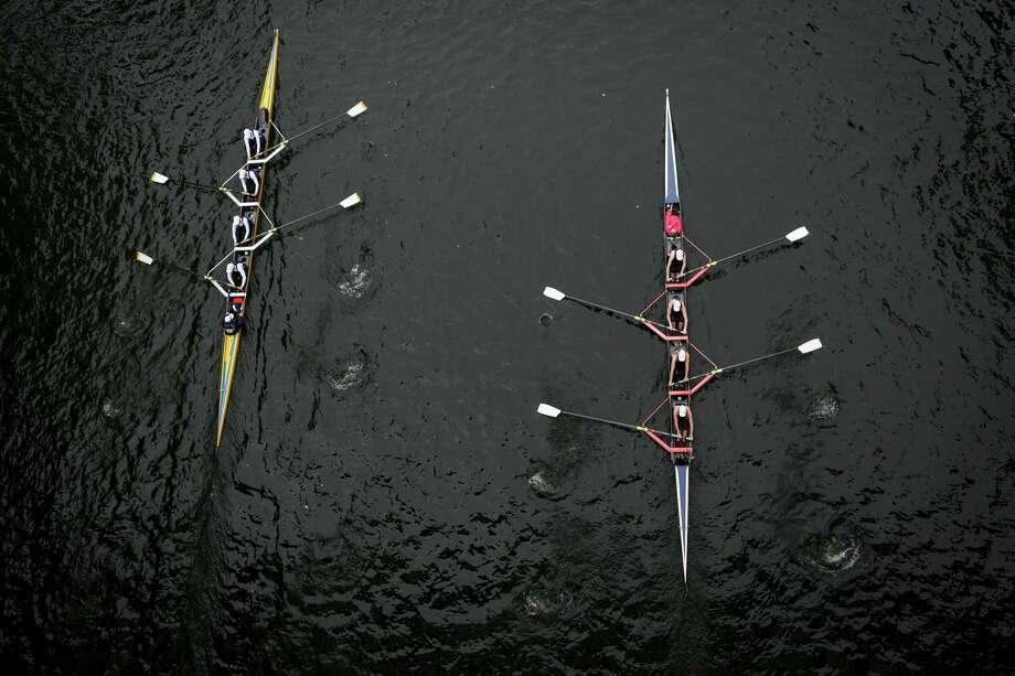 Rowing teams compete during the annual Windermere Cup Regatta. Photo: JOSHUA TRUJILLO, SEATTLEPI.COM / SEATTLEPI.COM
