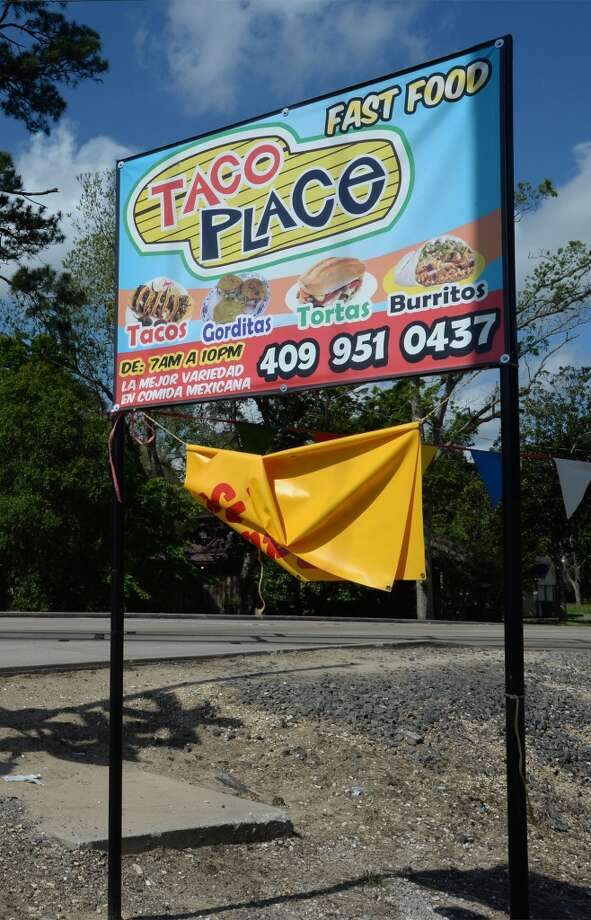 The Taco Place in Beaumont. Photo taken Monday, April 21, 2014 Guiseppe Barranco/@spotnewsshooter