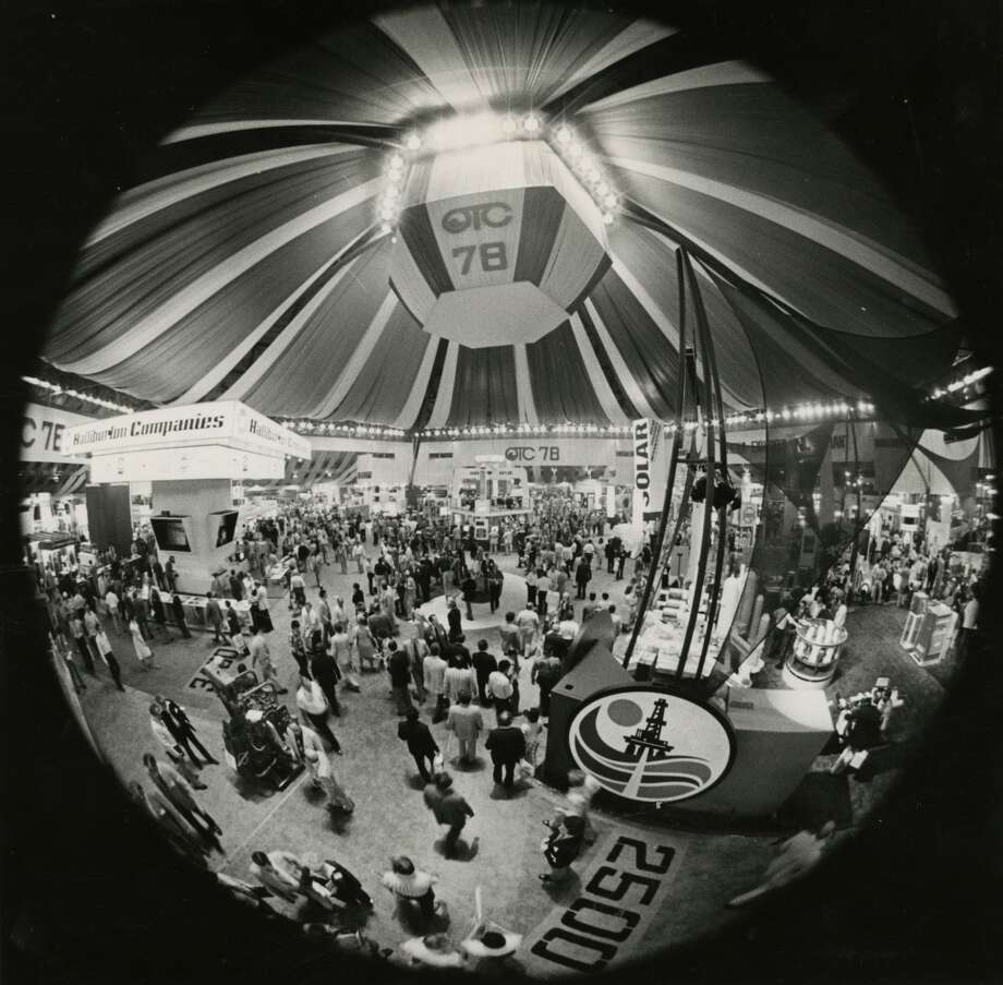 1978Attendance: 79,850  Space: 438,000 sf  Exhibiting companies: 1,800  [Photo: The Astrohall is crowded with attendees of the 1978 Offshore Technology Conference.] Photo: Frerd Bunch, Houston Chronicle