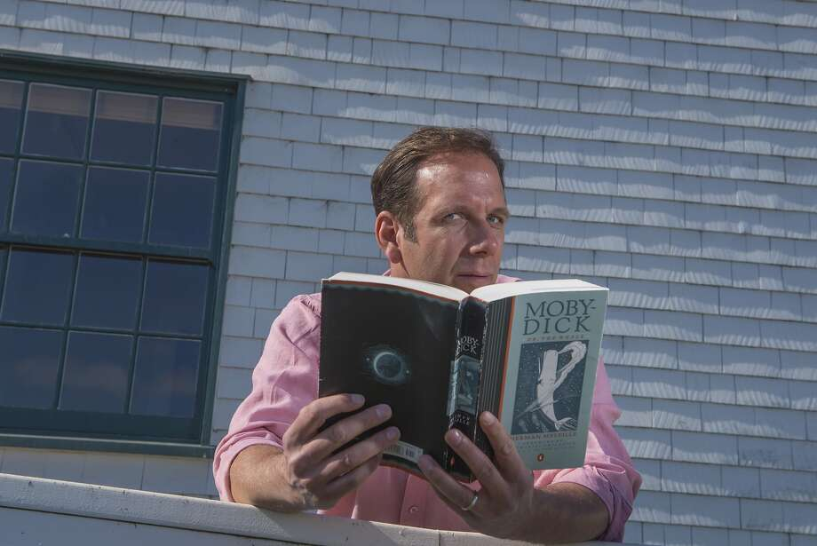"In NANTUCKET, Mark Kenward takes audiences on a trip to the fabled island, using his childhood experiences to expose the light and dark sides of ""paradise."" This unique solo performance event includes a New England picnic dinner served during intermission.  NANTUCKET plays at The Marsh Berkeley May 3 - June 14. Photo: David Allen"