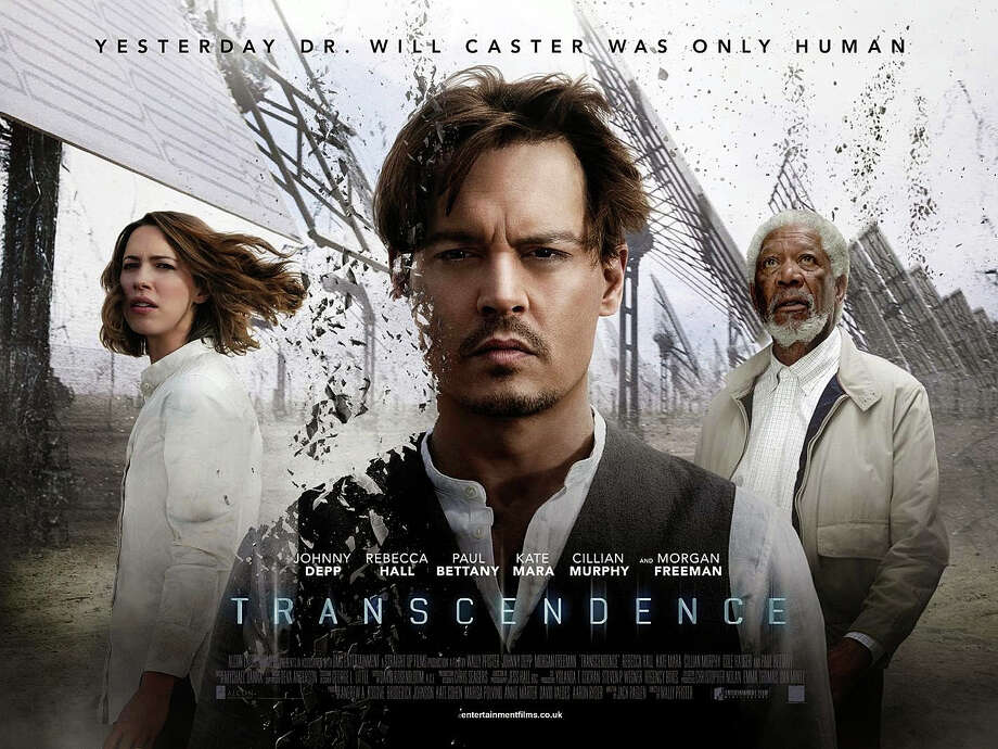 "The new movie, ""Transcendence,"" is playing in area theaters. Photo: Contributed Photo / Westport News"
