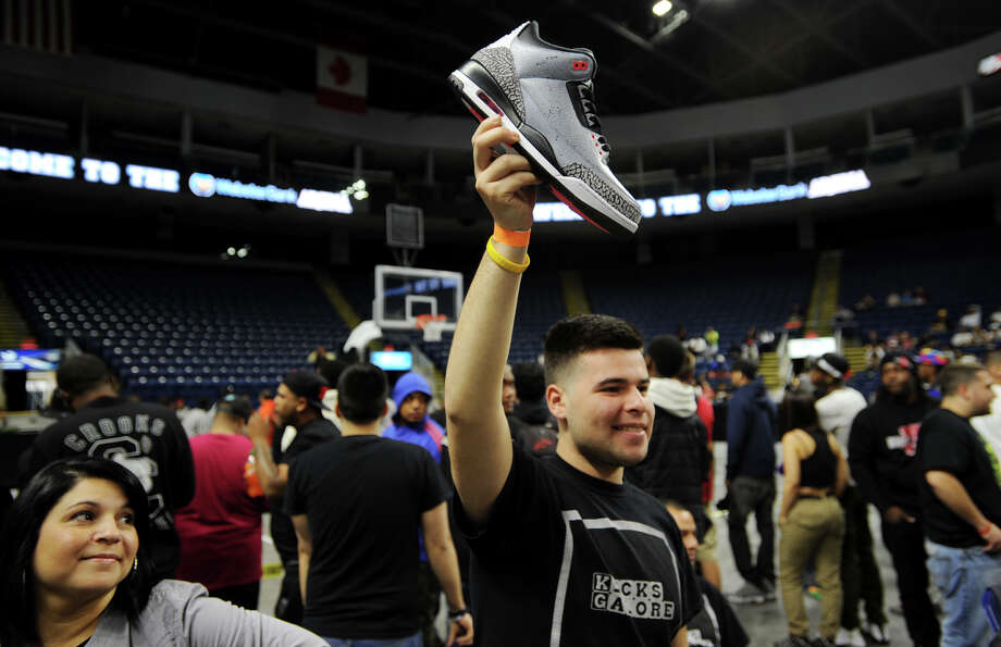 The inaugural Connecticut Sneaker Show at the Webster Bank Arena in Bridgeport, Conn. on Sunday, May 4, 2014. Photo: Brian A. Pounds / Connecticut Post