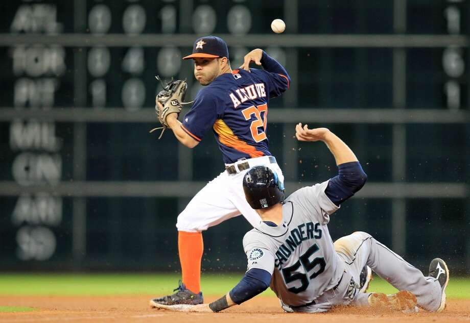 May 4: Mariners 8, Astros 7  Houston managed to score its first ninth-inning run for the season but still fell short as the Mariners secured the series win with a victory on Sunday.  Record: 10-21. Photo: Mayra Beltran, Houston Chronicle