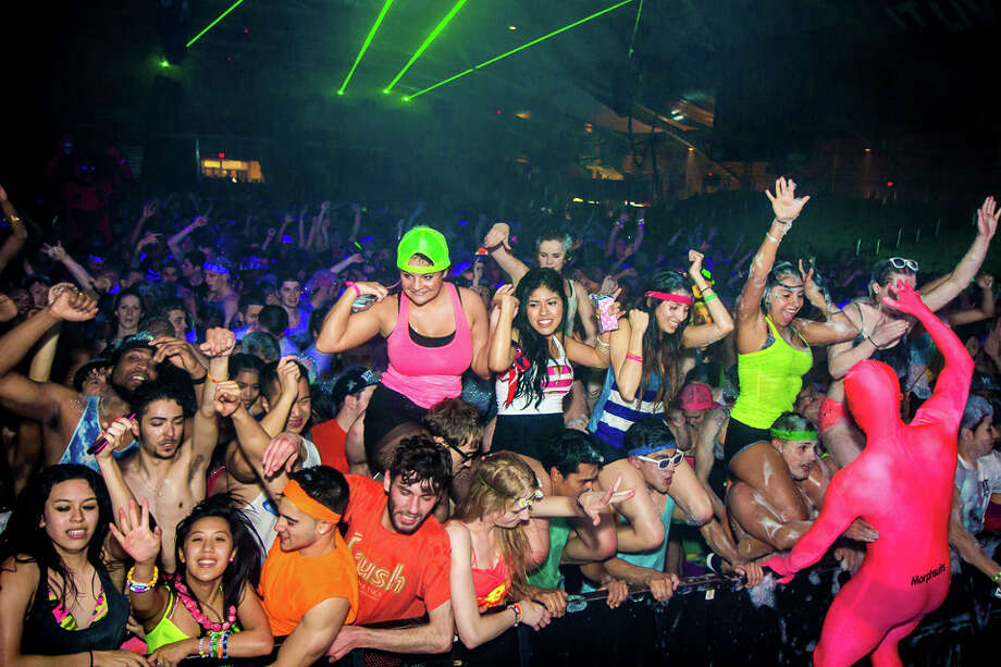 "Were You Seen at Foam N' Glow ""World's Largest Foam Party"" at the Washington Avenue Armory in Albany on Friday, May 2, 2014? Photo: Brian Tromans"