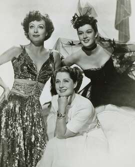 "Joan Crawford, Norma Shearer and Rosalind Russell in ""The Women."""
