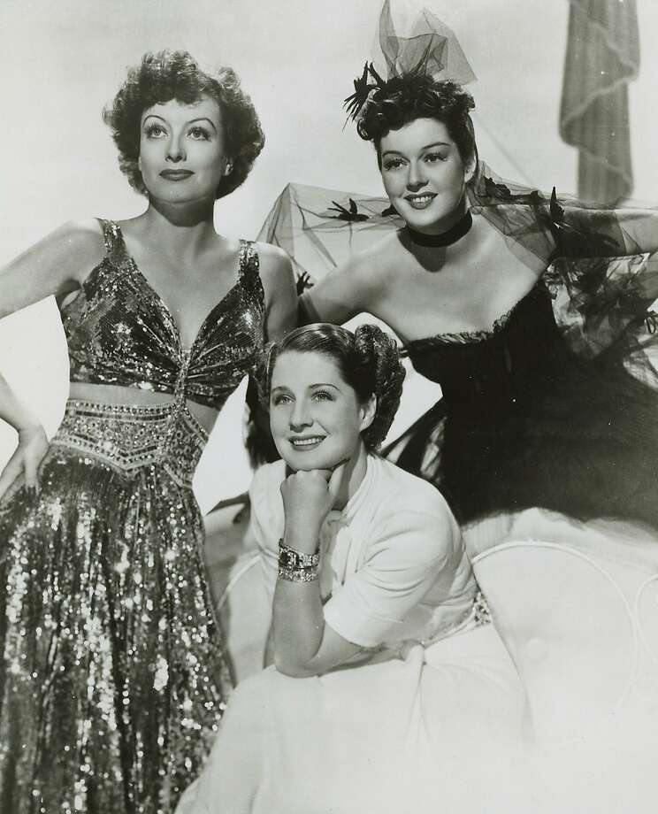 """Joan Crawford, Norma Shearer and Rosalind Russell in """"The Women."""" Photo: Chronicle File"""