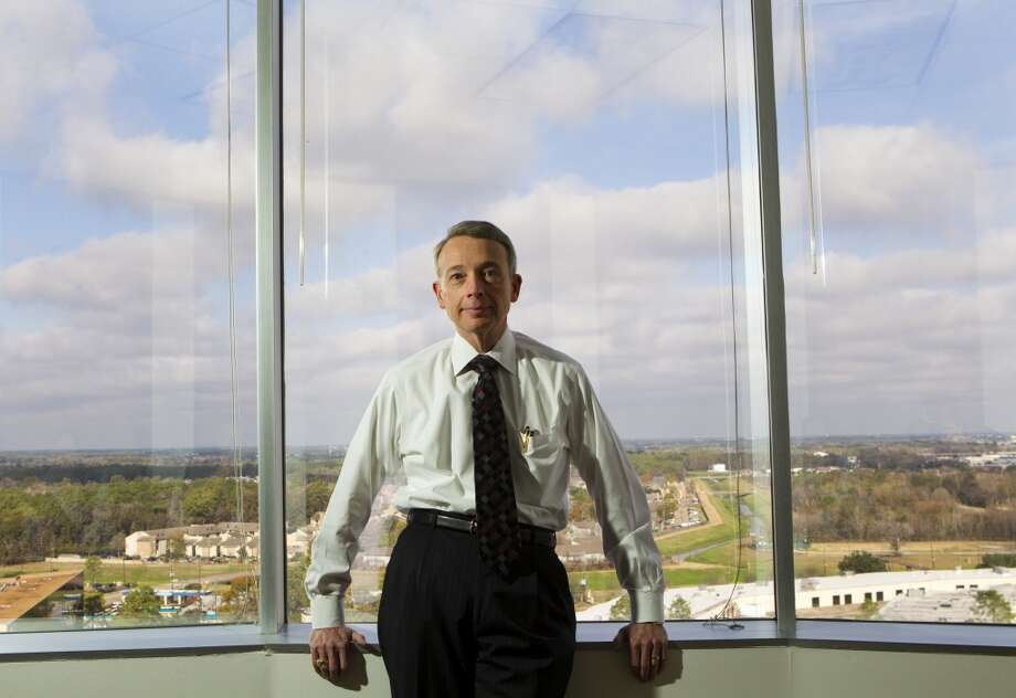 "Charles ""Chuck"" Davidson, CEO of Noble Energy, poses for a portrait in the oil and gas companies offices Wednesday, Jan. 5, 2011, in Houston. ( Brett Coomer / Houston Chronicle ) Photo: Houston Chronicle"