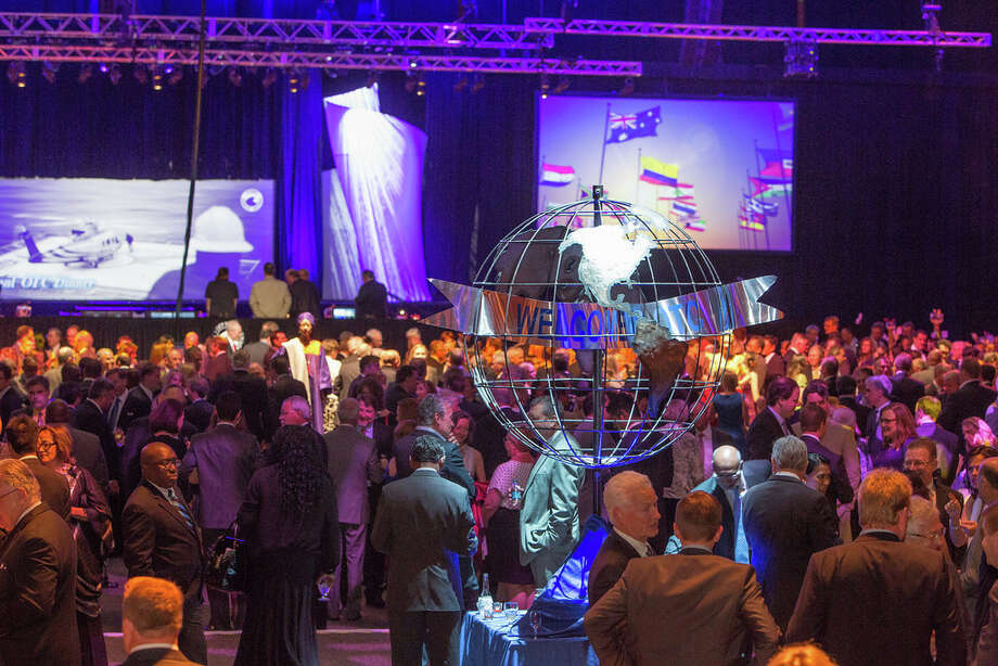 An awards dinner kicked off the 2014 Offshore Technology Conference at NRG Park in Houston on Sunday, May 4.