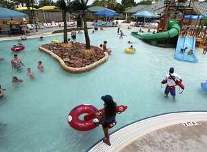 Developers are planning a Beaumont waterpark similar to Baytown's Pirate's Bay. The proposed park is planned for construction near Ford Park and could be open in 2015.   Photo taken: Wednesday, June 26, 2013. ( James Nielsen / Houston Chronicle )