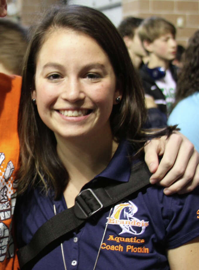 Brandeis swimming coach Teri Plotkin Photo: Courtesy Photo
