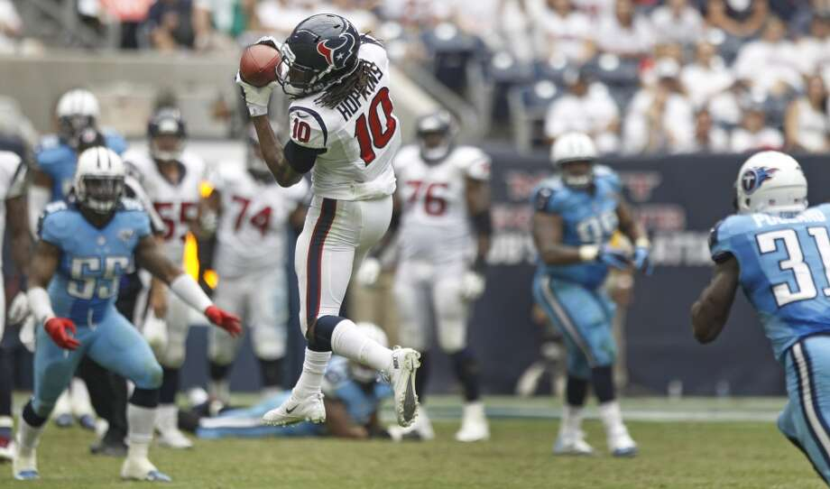 20. DeAndre Hopkins - WR, 2013, Round 1, 27 overall Photo: Brett Coomer, Houston Chronicle